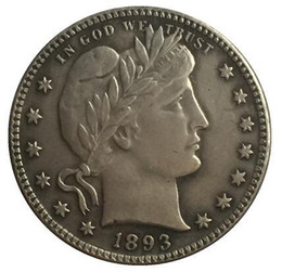 Wholesale Barber Dollars - 1893-S QUARTER DOLLARS BARBER COINS COPY FREE SHIPPING