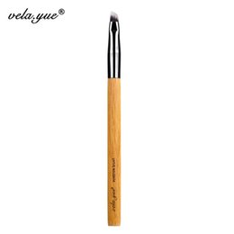 Wholesale Eyebrow Angle Brush - Wholesale 10pcs Lot Vela .Yue Angled Eyebrow Eyeliner Brush Synthetic Eyes Makeup Tool Cosmetic Brushes Kit