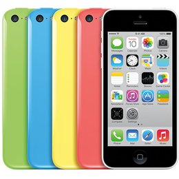 Wholesale Iphone 5c White Front - Original Refurbished Apple iPhone 5C A1532 32G ROM IOS AT&T T-Mobile GSM Factory Unlocked Smart Phone