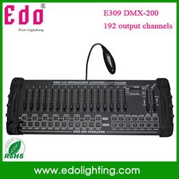 Wholesale 192 Channel Dmx Controller - Wholesale-DMX console stage lighting controller dj console DX-200 amount 192 channel console