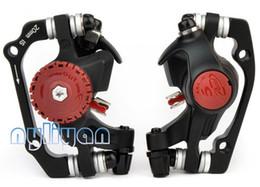 Wholesale Cable Brake Caliper - Free shipping 1 Pair AVID BB5 BB-5 mechanical Calipers Front&Rear MTB Disc Brake Set