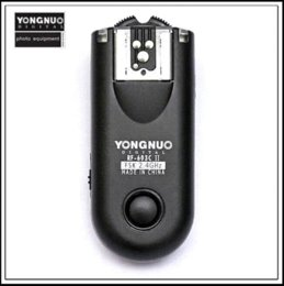 Wholesale Radio C3 - Yongnuo RF-603 II Radio Wireless Remote Flash Trigger C3 for Can&n 1D   1DS, E&S 5D Mark II   5D   50D
