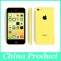 "Wholesale Dual Core Ips - Original Apple iPhone 5C Unlocked Mobile Phone 1G 32GB Dual-Core IOS 8 Retina 4.0"" IPS 8MP 1080P GPS WIFI 3G WCDMA Smartphone 002849"
