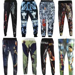 f353787435e9b8 Wholesale-2015 Men s Jordan Classic Play Basketball Printed Joggers  Sweatpants Casual Pants Hip Hop Clothes Gym Running Sport Trousers