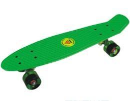 Wholesale Retro Cruiser Skateboard - Wholesale-Lenwave Brand Retro Classic Cruiser Style Skateboard Complete Deck Plastic Skate Board 1693#