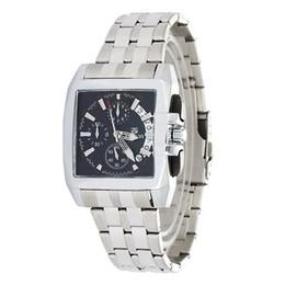 Wholesale Hour Hand Men - Wholesale-2015 MEGIR Stainless Steel Men's 6 Hands 24 Hours Display Date Chronograph Sport Watch Men Wristwatch Relogio Masculino