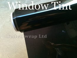 Wholesale Sticker Glass Window - Transmittance 20% Wiindow Tint Film Solar Film High Resistance UV Heat Insulation Film For Car Glass Protect 1.52x30M Free Shipping