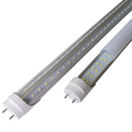 Tubo di 1,2 mt8 g13 online-Luci della metropolitana di 3000K 4000K 5000K G13 T8 LED 4ft 5ft 6ft 8ft forma di V LED doppia fila LED congelatore del congelatore della porta del dispositivo di raffreddamento
