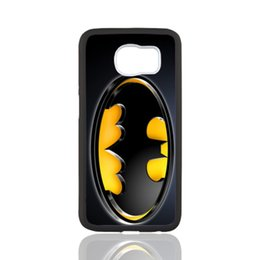 Wholesale Batman Logo Hard Case - Batman Logo customized design for samsung galaxy S3 S4 S5 S6 note2 note4 note3 hard plastic cell phone back cover case
