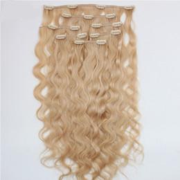 Canada ELIBESS Pince à Cheveux En Extension de Cheveux 613 Couleur Profonde Bouclés 7 pcs 100 g / lot Top Qualité Européenne Vierge Remy de Cheveux Humains Offre