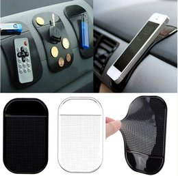 Wholesale Car Mats Free Shipping - New Hot sale dashboard pad Non Slip Anti-Slip Mat Powerful Silica Sticky Pad For mp3 mp4 Car Magic free shipping [FG15015(5)*1]