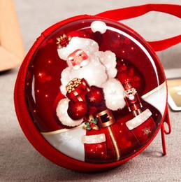 Wholesale Coin Purse Balls - 2017 Christmas Ornament Gift Christmas Tree Elderly Ball Pendant Coin Purse
