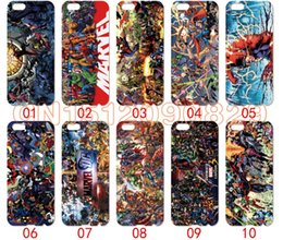 Wholesale Mini S3 Casing - DC Marvel Super Hero For iPhone 6 6S 7 Plus SE 5 5S 5C 4S iPod Touch 5 For Samsung Galaxy S6 Edge S5 S4 S3 mini Note 5 4 3 phone cases