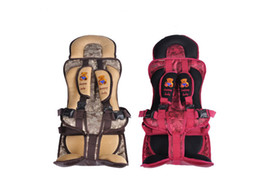 Wholesale Car Seat Belt Lock - Pushide Child Pillow Car Rear Safety Seats Booster Portable Infant Baby Belt Adjuster Car Child Seats Harness Cord Locks 0-12 Year Old