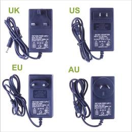 3528 cavo di alimentazione principale Sconti Nuovo adattatore di alimentazione di 12V 2A per 5050 3528 RGB condotto 110V 220V a 12V EU US AU UK Spina cavo LED Trasformatore a strisce