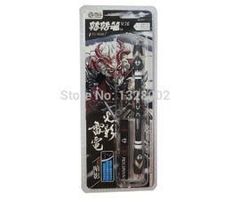 Wholesale Pen Spinning - Wholesale-New ZHIGAO V16 black ZG - 5098 Non Slip Spinning Pen Zhigao V.16 Light and shadow of lightning