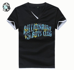 Wholesale Bbc Blue - 2016 New Arrival BBC icecream Billionaire Boys Club t-shirts Mens short sleeve shirts fashion tops tee