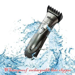 Wholesale Mens Electric Shavers Razor - Mens Rechargeable Shaving Electric Shave Beard Hair Trimmer Shaver Razor Epilator Blades For Men 0.6-RCS10 order<$15 no tracking