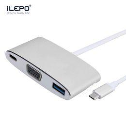 USB 3.1 Tipo c hub a VGA 1080p Cable HD Adaptador Convertidor Macho a Hembra para PC Monitor Proyector TV Xbox desde fabricantes
