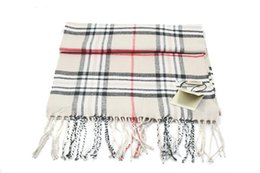 Wholesale Long Scarves White - NEW! 2015 Womens Long Scarf Fashion Casual Warm Cashmere Shawl Plaid Scarf Knitted Scarf Women Winter Scarves