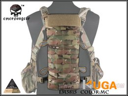 Wholesale Molle Panels - Wholesale-NEW MERSON LBT2649E Style 2.5L Hydration Back Panel MOLLE Pouch Cordura Hiking Camping Water Bag EM5815