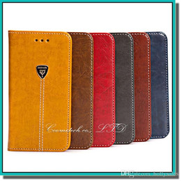 Wholesale Wallet Phone Case Prices - High quality PU leather flip stand phone case with card slot phone cover for samsung iphone HTC huawei xiaomi LG with factory price DHL free