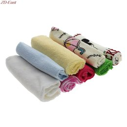 Wholesale Baby Bath Cloth - Wholesale- 8Pcs Baby Infant Newborn Bath Towel Washcloth Bathing Soft Feeding Wipe Cloth
