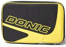 Wholesale Donic Racket - Donic 66102 ping pong bag single tier set table tennis racket cover
