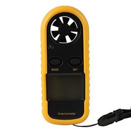Atacado-Novo GM816 30m / s (65MPH) LCD Digital Air Handheld Velocidade Velocímetro Medidor de Bolso Anemômetro Anemômetro Anemômetro de