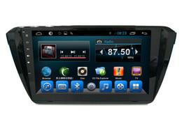 Wholesale mp4 player av - In Car AV Infortainment for VW Skoda Superb Capacitive Touch Screen Car PC Car Dvd