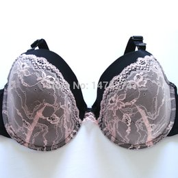 Wholesale Bra Dd - Wholesale-2015 women bra pink color have D DD DDD cup full cup for big size women super cup and high quality