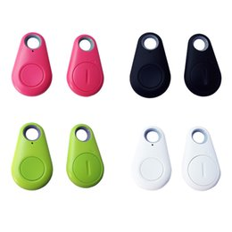 Wholesale Child Bags - 2018 Hot Mini Selfie Smart Finder Key Remote Shutter Wireless Bluetooth Tracker Anti lost alarm Tag Child Bag Pet Lage GPS Locator itag