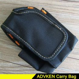 Wholesale Vaping Cases - New ADVKEN Portable Vapor Bag V2 Vaping Mod Jeans Denim Carry Bag For DIY Tool Carring Pouch Case DHL Free