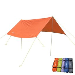 Wholesale Camping Gazebo Tent - Wholesale- Outdoor Waterproof Large Beach Tent Awning Gazebo UV Sun Shelter Canopy Hiking Picnic Sunshade Party 3*3m Camping Tente ZYP15