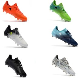 Wholesale Discount Indoor Soccer Shoes - 2017 New Cheap Discount ACE 17.1 FG Leather Soccer Cleats For Men Soccer Shoes Orginal Ace Football Boots Primeknit Messi Football Shoe