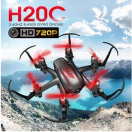 Wholesale Mini Hexacopter - JJRC H20C Mini Drone with 2.0MP Camera H20 Upgrade RTF 2.4G 4CH 6 Axis Gyro RC Hexacopter Headless Auto-Return Toy