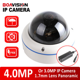 Wholesale Dome Poe - XMEYE Full HD Dome IP Camera Outdoor POE 4MP 3MP 2592*1520 2048*1536 Fisheye Lens CCTV Security Camera 180 360 Degree Panoramic View