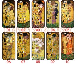 Wholesale S4 Phone Casing - Kiss by Gustav Klimt For iPhone 6 6S 7 Plus SE 5 5S 5C 4S iPod Touch 5 For Samsung Galaxy S6 Edge S5 S4 S3 mini Note 5 4 3 phone cases