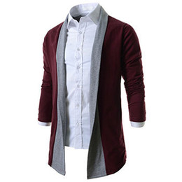 Wholesale Jumper Hombres - Wholesale- Casual Men Cardigan Sweater Man Hombre Brand New Mens Jumpers Matching Christmas Sweater Hombre Casaco Masculino M-SW-945