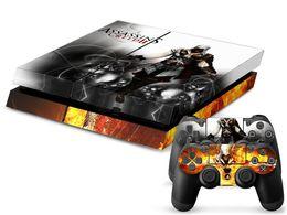 Pop Assassins Creed PS4 Pele PS4 Adesivos de Vinil Decalque 1 Console Pele + 2 Adesivos Controlador de Fornecedores de capa de tubarão