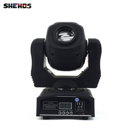 Wholesale Moving Light Gobos - Spot 60W LED Moving Head Light With Gobos Plate&Color Plate,High Brightness 60W Mini Led Moving Head Light DMX512 Stage Lighting