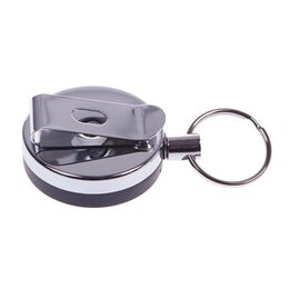 2019 caudas de lobo preto Novo Hot Mini Anti Lost Hook Buckle Segurança Anti Theft Device Purse Cellphone Wallet # 54990