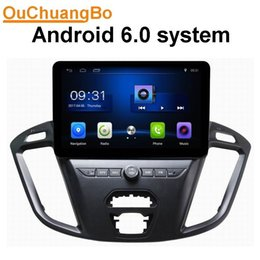 Wholesale Bluetooth Car Audio Ford - Ouchuangbo car audio gps nav 1024*600 android 6.0 for Ford transit 2017 pohto with SWC USB BT AUX 3g wifi 4 Cores