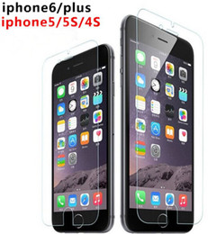 Wholesale Screen Protector S4 Factory - 2.5D 0.26mm 9H Tempered Glass Manufacturer Factory Price Screen Protector for iphone 6 6s Plus 5S 4S Samsung S6 S5 S4 Note 5 4