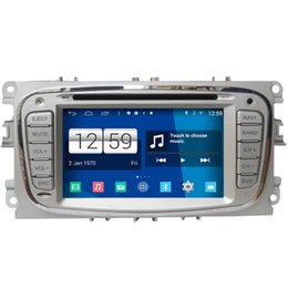 Wholesale Ford Focus Stereo - Winca S160 Android 4.4 Car DVD GPS Headunit Sat Nav for Ford Focus 2008 - 2011 with Radio Wifi 3G OBD Video Player