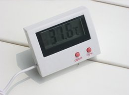 Wholesale Wholesale Electronics Sensor - HT-5 Thermometer Electronic LCD Digital Temperature Display External Sensor Integration Especially for Refrigerator
