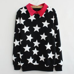Wholesale Newest Brand Hoody - FG1509 2015 New Brand Big Star Thick fleece cotton hoodies women newest style hoody winter sweatshirt Tracksuit 3 color free shipping