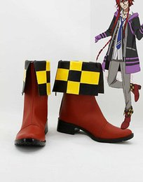Wholesale Loki Cosplay - Wholesale-Kamigami no Asobi Thor Brother Loki Laevatein Cosplay Boots Boot Shoes Shoe