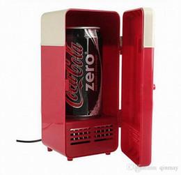 Wholesale Hot Beverage Warmer - Hot Mini USB PC Refrigerator Fridge Beverage Drink Can Cooler Warmer High quality New Cooler Beverage Drink Cans Cooler Warmer