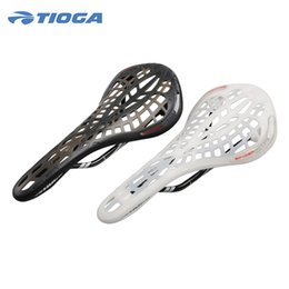Canada TIOGA Route / VTT Spider Carbon Rail Selle Fixe Gear Fixie 120g Ultralight MTB Mountian Selle De Vélo Nouveau 2 Couleurs Offre